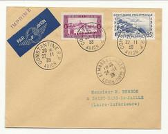 ALGERIE // CONSTANTINE Pour St MARS LA JAILLE. Par Avion. SUP - Covers & Documents