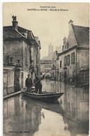 CPA  MANTES / SEINE   Inondation 1910 ,  Rue De La Pêcherie - Mantes La Jolie