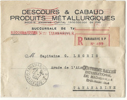 MADAGASCAR - TANANARIVE. 4e Rallye Aérien International De MADAGASCAR. 1954 - Covers & Documents