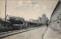 60 Chambly Rue Des Ecoles (carte Circulée) - Andere Gemeenten