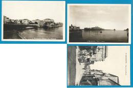 3 CPA DE BEYROUTH (LIBAN) Neuves: Rue De La Poste/ Port Lotus/Avenue Des Francais - Lebanon