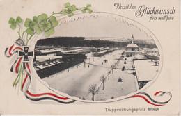 57 - BITCHE - VOEUX DU 1.01.1918 - BELLE CARTE FANTAISIE - Bitche