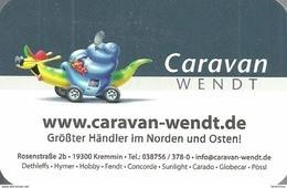 SNAIL * ANIMAL * MOTORHOME * CARAVAN * KREMMIN * CALENDAR * Caravan Wendt 2013 * Germany - Tamaño Pequeño : 2001-...