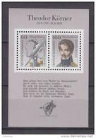 BRD Block 25, Postfrisch **, 200. Geburtstag Von Theodor Körner 1991 - Bloques