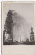 1920. RUSSIA, AZERBAIJAN, BAKU, OIL WELLS, ILLUSTRATED POSTCARD, MINT - Rusia