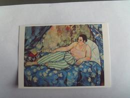 Musée Georges Pompidou  La Chambre Bleue 1923  Suzanne Valadon ( Heidelberger Kunstverein   Neuve - Musei