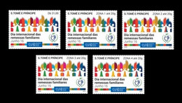 Sao Tome And Principe 2020 Mih. 9110/14 International Day Of Family Remittances MNH ** - Sao Tomé Y Príncipe
