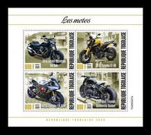 Togo 2020 Mih. 11872/75 Motorcycles MNH ** - Togo (1960-...)