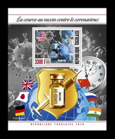 Togo 2020 Mih. 11906 (Bl.2180) Medicine. Race For COVID-19 Coronavirus Vaccine MNH ** - Togo (1960-...)