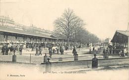 """CPA FRANCE 75015 """"Paris, Le Marché Aux Chevaux"""" - Arrondissement: 15"""