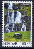Faroe Islands 2017. Nature, Landscape,  Waterfalls...  MNH - Faeroër