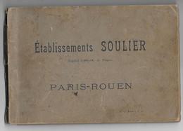 Etablissement SOULER à ROUEN - Société D' Equarrissage ( Peaux Cornes Déchets .. - Pas Cartes Postales - Rouen