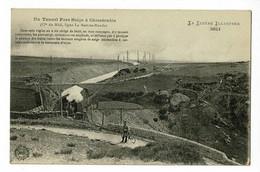 Un Tunnel Pare Neige à Chasséradès (Cie Du Midi, Ligne La Bastide-Mende) Facteur à Vélo, Train - Circ Sans Date, Sous En - Otros Municipios