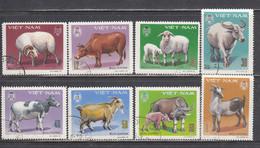 Vietnam 1979 - Animaux Domestiques, Mi-Nr. 1020/27, Used - Vietnam