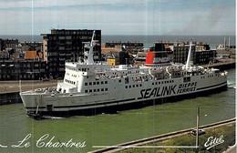 "C P S M Ferry  Bateau "" Chartres "" Sealink Dieppe Le Port - Traghetti"