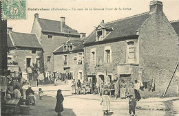 14 OUISTREHAM - UN COIN DE LA GRANDE COURDE LA GREVE - Ouistreham
