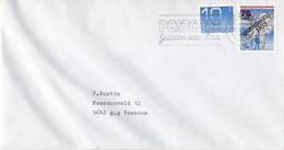 Nederland - Poststaking 1983 - Groningen - 15 Februari 1984 - Gelopen Brief - RARE! - Abarten Und Kuriositäten