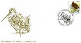 BUZIN - N° 3199 Bécassine Des Marais - Watersnip - 2001-10