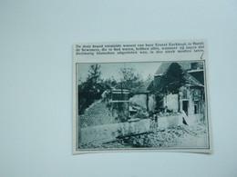 """Origineel Knipsel ( A 134 ) Uit Tijdschrift """" De Stad """"  1933 :  Brand   Burst - Zonder Classificatie"""