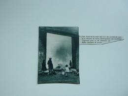 """Origineel Knipsel ( A 137 ) Uit Tijdschrift """" De Stad """"  1933 :  Brand   Heule Bij Kortrijk - Zonder Classificatie"""