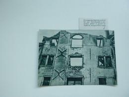 """Origineel Knipsel ( A 139 ) Uit Tijdschrift """" De Stad """"  1933 :  Brand   Antwerpen - Zonder Classificatie"""