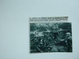 """Origineel Knipsel ( A 140 ) Uit Tijdschrift """" De Stad """"  1933 :  Brand   Exaerde  Eksaarde - Zonder Classificatie"""