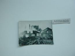 """Origineel Knipsel ( A 144 ) Uit Tijdschrift """" De Stad """"  1933 :  Brand   Lokeren - Zonder Classificatie"""