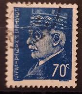 France/French Stamp 1941-42 N°510b C Cedille Oblitéré TB - Gebraucht