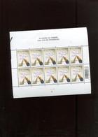 Belgie 2002 Nr 3063 DVDP Pen Volledig Vel Plaatnummer 2 Numéro De Planche (lichte Kreukjes) - Panes