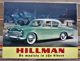 Depliant Publicitaire  Voitures  HILLMAN Den Haag 1958 - Practical