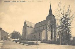Jodoigne - Eglise St. Médard - Rue St. Médard - Circulé - 2 Scans. - Jodoigne