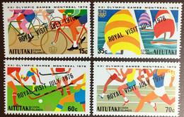 Aitutaki 1976 Royal Visit MNH - Aitutaki