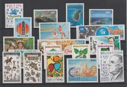 """Wallis Et Futuna - Année 1995 Comlpète Neuve** """"Poste Et PA"""" (cote 92.95 Euros) - Komplette Jahrgänge"""