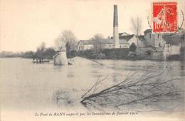 Rans Ranchot Pont Emporté Par Inondations 1910 Canton Dampierre - Other Municipalities