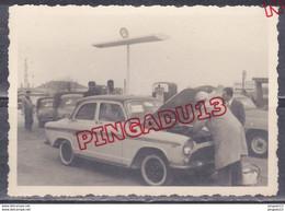 Au Plus Rapide Algérie Années 50 Archive Membre Esso Simca P 60 Beau Format Ensemble 2 Photos - Automobili