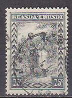 B0814 - RUANDA URUNDI Yv N°98 - 1924-44: Usati