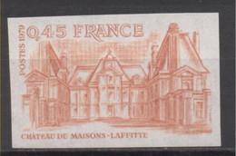 Maisons-Lafitte YT 2064 De 1979 Essai De Couleur,  Sans Trace De Charnière - Imperforates