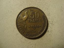 MONNAIE FRANCE 50 FRANCS GUIRAUD 1953 B - M. 50 Franchi
