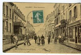 CPA BOLBEC - Rue Gambetta - Bolbec
