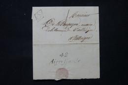 FRANCE - Cursive De Aigrefeuille Sur Lettre Pour Vieillevigne Avec Cachet CD - L 83580 - 1801-1848: Precursores XIX