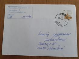Lithuania Litauen Cover Sent From Pravieniskes  Prison To Siauliai 2009 - Lituania