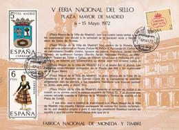 España HR 3 Usada - Blocks & Sheetlets & Panes