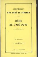 Bideren (64 Pyrénées Atlantiques) Sermou Dou Curé De Bideren : Rèbe De L'abé Puyo  (ed 1980)(M1430) - Aquitaine