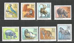 Germany DDR 1975 Year MNH(**) Mi.# 2030-37 Animals - Nuevos