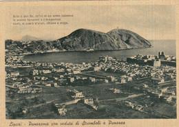 LIPARI-MESSINA-PANORAMA CON VEDUTA DA STROMBOLI E PANAREA-CARTOLINA NON VIAGGIATA -1948-1950 - Messina
