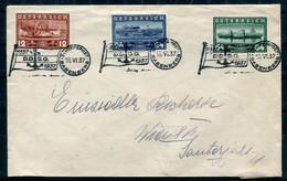 Österreich - DDSG Sonderstempel Auf Brief 1937 - Covers & Documents