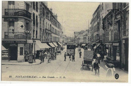 CPA   FONTAINEBLEAU   Rue Grande   N° 95 - Fontainebleau