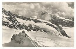 I4306 Fliegeraufnahme Jungfraujoch Mit Observatorium / Viaggiata 1960 - BE Berne