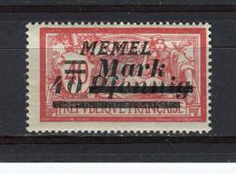 MEMEL - Y&T N° 84** - MNH - Type Merson - Unused Stamps