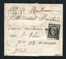 Rare Lettre De Laigle Pour Rouen ( Orne 1849 ) Avec Un N° 3a - 1849-1850 Cérès